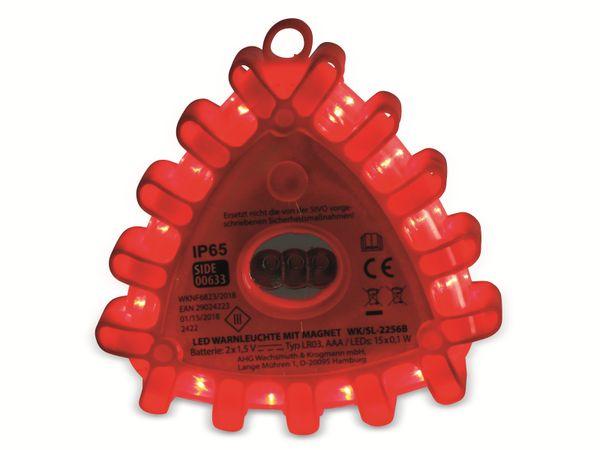 LED-Warnlicht, 12 rote LEDs, mit Magnet - Produktbild 5