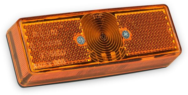 Seitenmarkierungsleuchte LAS 10119, 12 V, orange