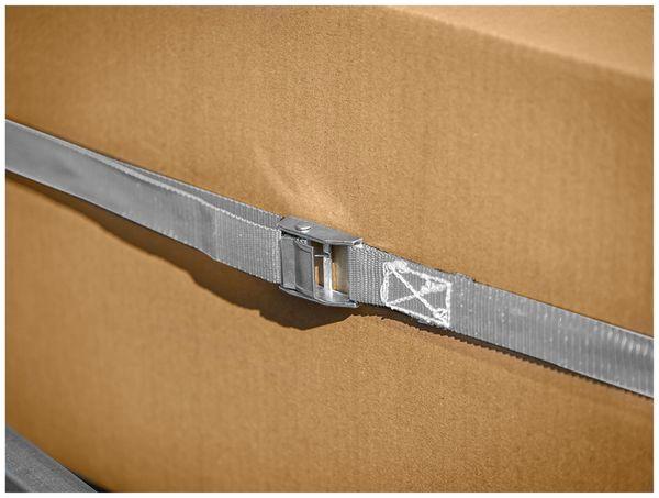 Spanngurt LAS 10321, 250x2,5 cm, mit Klemmverschluss, 250 daN, 2 Stück - Produktbild 2