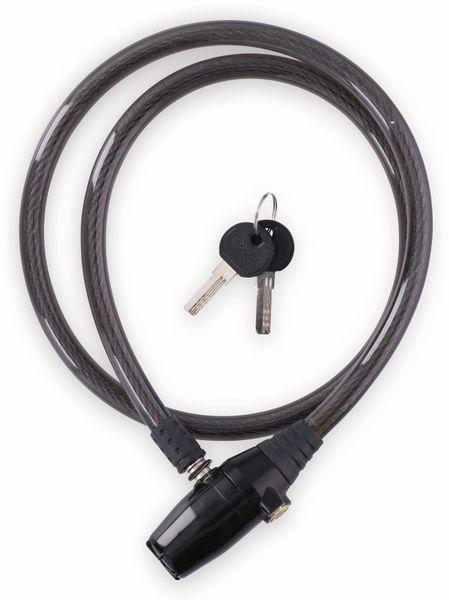 Kabelschloss mit Alarm, Ø12x1000 mm