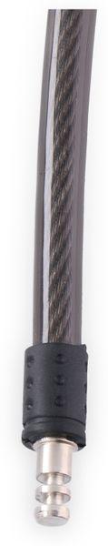 Kabelschloss mit Alarm, Ø12x1000 mm - Produktbild 3