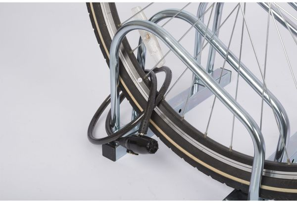 Kabelschloss mit Alarm, Ø12x1000 mm - Produktbild 4