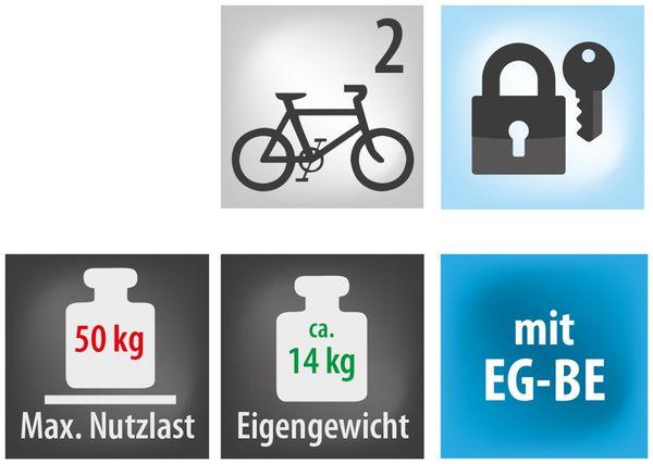 Heckträger EUFAB James, 2 Fahrräder - Produktbild 7