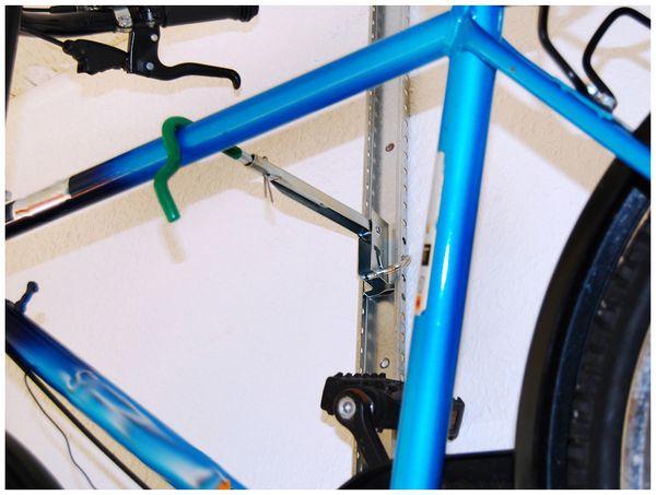 Fahrrad-Wandhalter EUFAB 16408, 25 kg - Produktbild 5