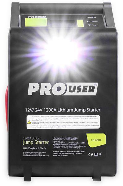 Jumpstarter PROUSER 16479, Lithium Ionen, 12/24 V, 30.000 mAh - Produktbild 7