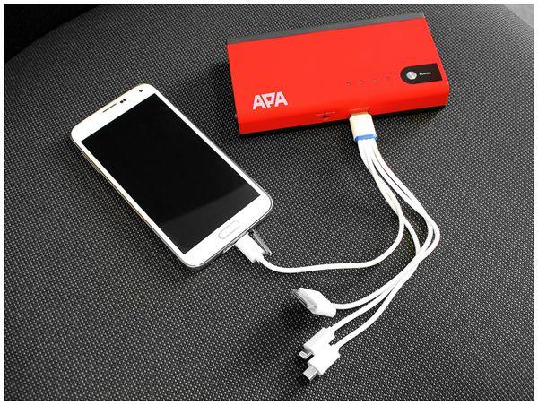 Jumpstarter APA 16480, Lithium Ionen, 11.000 mAh - Produktbild 3