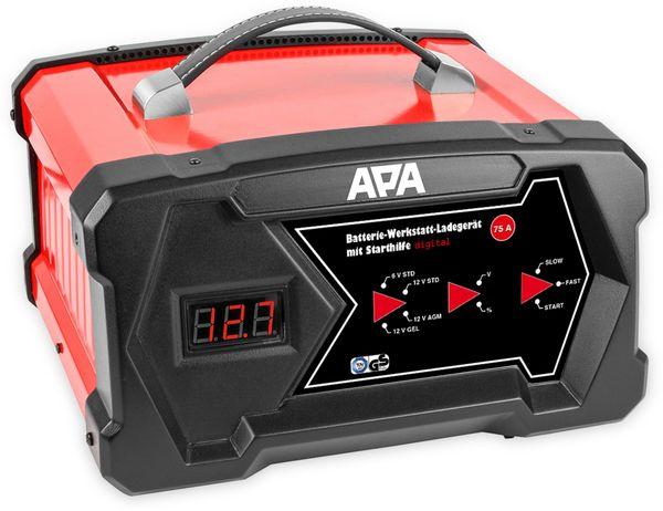 Werkstattladegerät APA 16631, 6/12 V