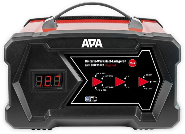 Werkstattladegerät APA 16631, 6/12 V - Produktbild 2