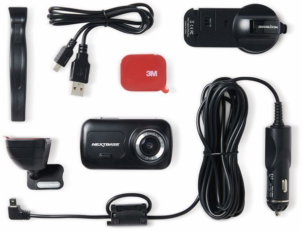 """Dashcam NEXTBASE 222, 1080p, 2,5"""" - Produktbild 9"""