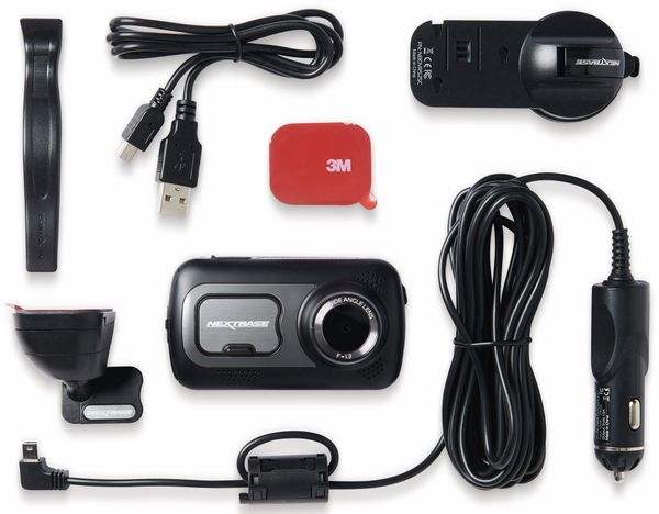 "Dashcam NEXTBASE 522GW, 1440p, 3"" Touch, WiFi, GPS - Produktbild 9"