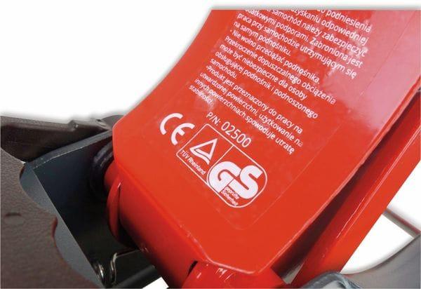 Hydraulik-Wagenheber AMIO, 2000 Kg - Produktbild 9