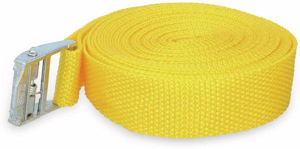Spanngurt KINZO, 1,5 m, gelb