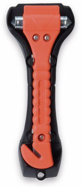 Notfallhammer Orange