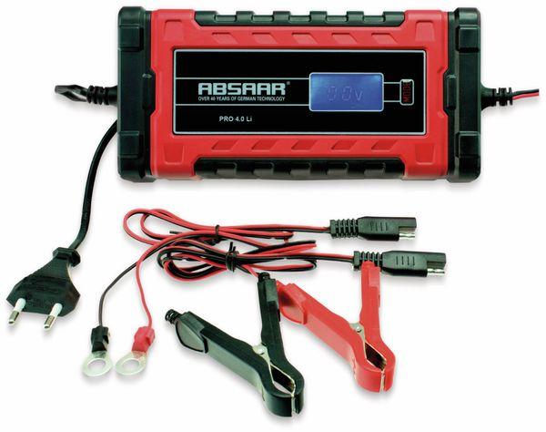 Batterie-Ladegerät ABSAAR Pro 4.0 Lithium 6/12 V- 4 A