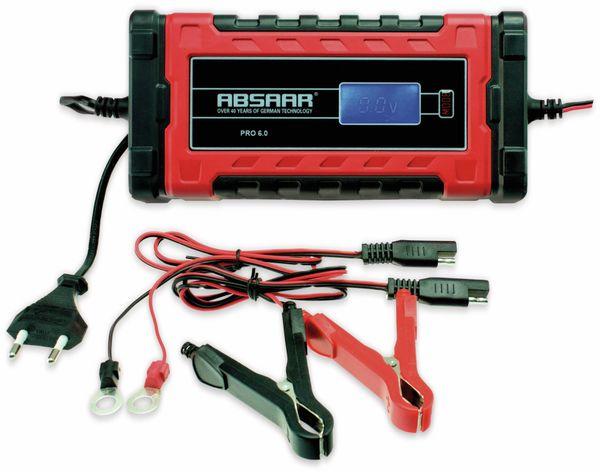 Batterie-Ladegerät ABSAAR Pro 6.0, 12/24 V- 6 A