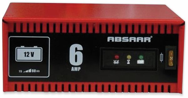Batterie-Ladegerät ABSAAR 12 V- 6 A