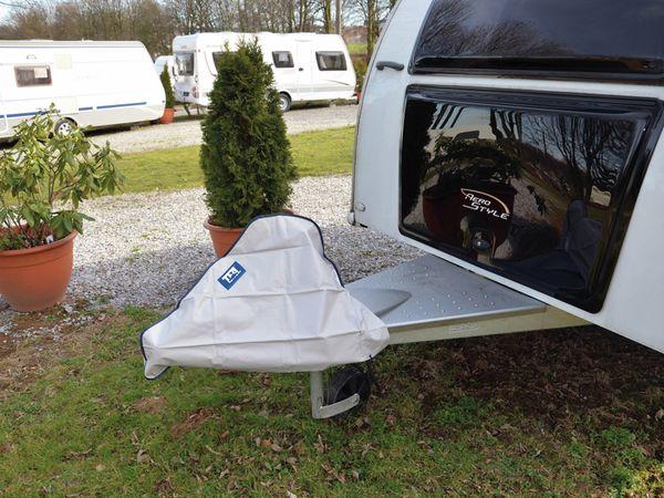 Deichselschutzhaube TFA 88847, 910x590 mm, grau - Produktbild 2