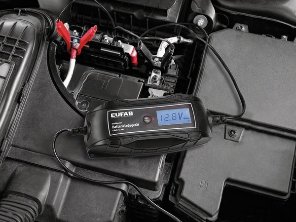 Batterie-Ladegerät EUFAB 16615, 6/12V- 4A - Produktbild 2