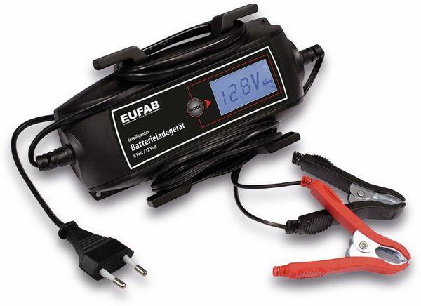 Batterie-Ladegerät EUFAB 16616, 6/12V 4A