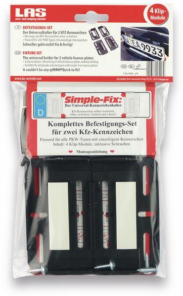 KFZ-Kennzeichenhalter LAS 17028, 2er Set - Produktbild 6