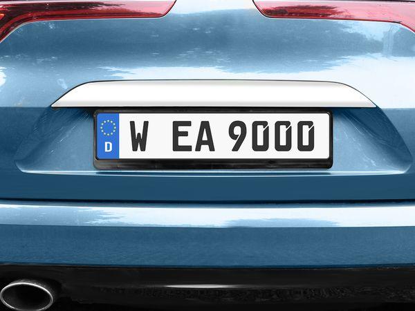KFZ-Kennzeichenhalter EUFAB 17026 - Produktbild 2