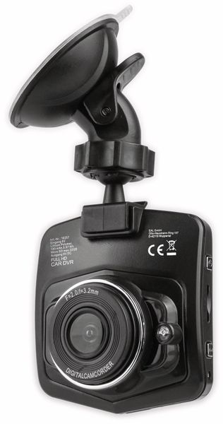 """Dashcam EUFAB 16257, 1080p, 2,2"""" (5,6 cm)"""