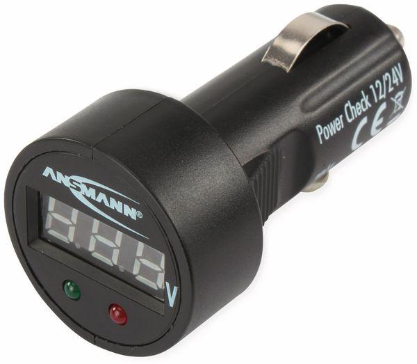 KFZ-Batterietester ANSMANN für 12/24 V- Batterien - Produktbild 3