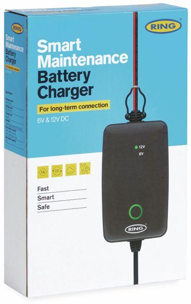 Batterie-Ladegerät RING RESC701, 6/12 V-, 1 A , für Ladungserhalt - Produktbild 2