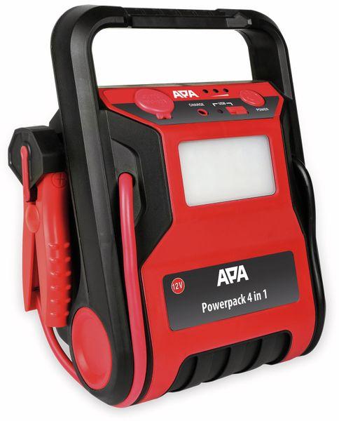 Starthilfegerät APA 16553, 4 in 1, Powerpack