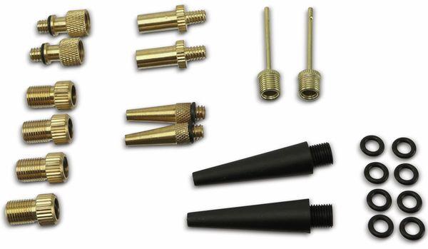 Fahrradventil-Adaptersatz DUNLOP, 14-teilig - Produktbild 2