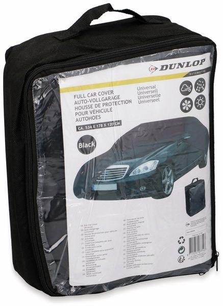 Auto-Vollgarage DUNLOP, Universal, 534x178x120 cm, schwarz