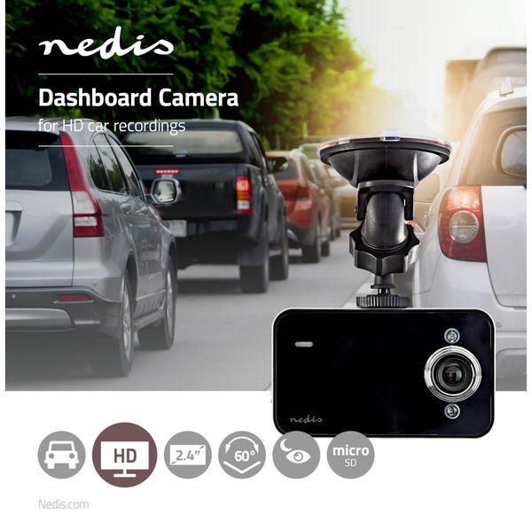 """Dashcam NEDIS DCAM05BK, 720p, 2,4"""" (6,09 cm) - Produktbild 6"""