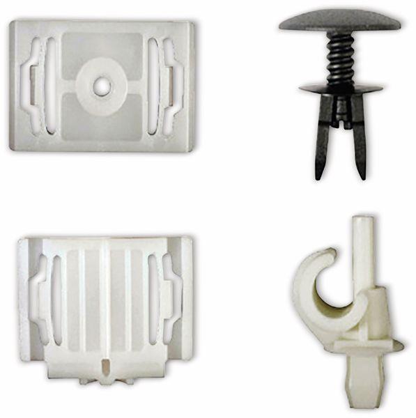 KFZ-Befestigungsclip-Set, BGS, 9044, für Audi, VW, 160-tlg - Produktbild 4