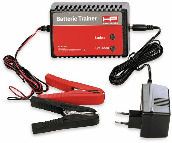 Batterietrainer HP AUTOZUBEHÖR 20817, 12 V-, 500 mA