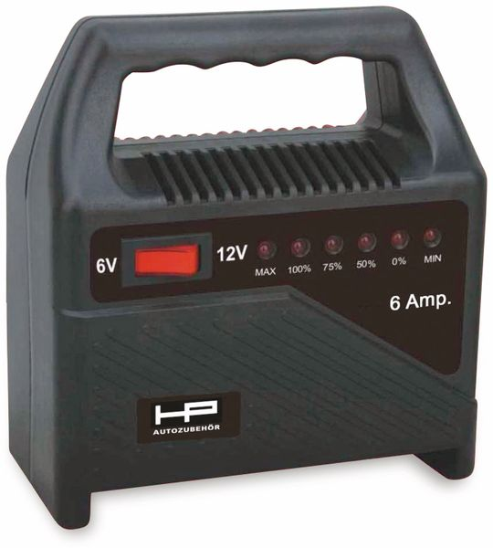 Batterie-Ladegerät HP AUTOZUBEHÖR 20502, 6/12 V-, 6 A - Produktbild 2