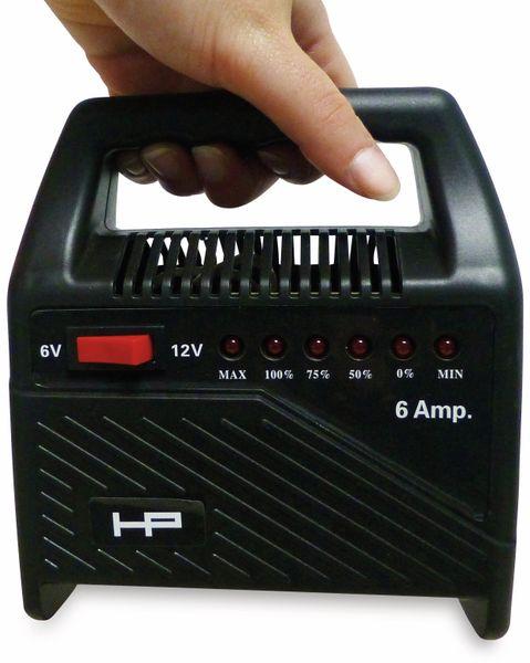 Batterie-Ladegerät HP AUTOZUBEHÖR 20502, 6/12 V-, 6 A - Produktbild 3