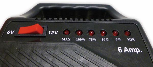 Batterie-Ladegerät HP AUTOZUBEHÖR 20502, 6/12 V-, 6 A - Produktbild 4