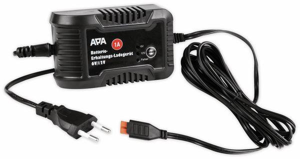 Batterie-Erhaltungsladegerät APA 16496, 6/12 V, 1 A