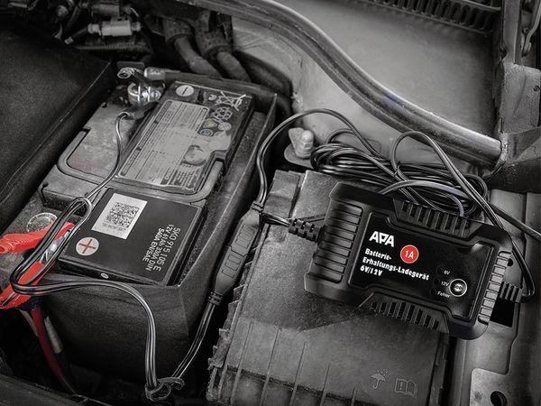 Batterie-Erhaltungsladegerät APA 16496, 6/12 V, 1 A - Produktbild 2
