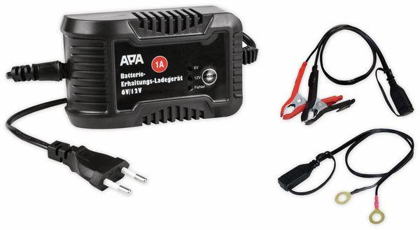 Batterie-Erhaltungsladegerät APA 16496, 6/12 V, 1 A - Produktbild 4