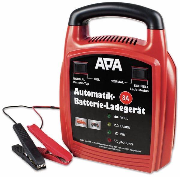 Automatiklader APA 16628, 12 V, 8 A