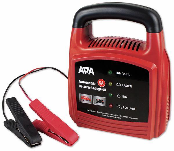 Automatiklader APA 16627, 12 V, 6 A