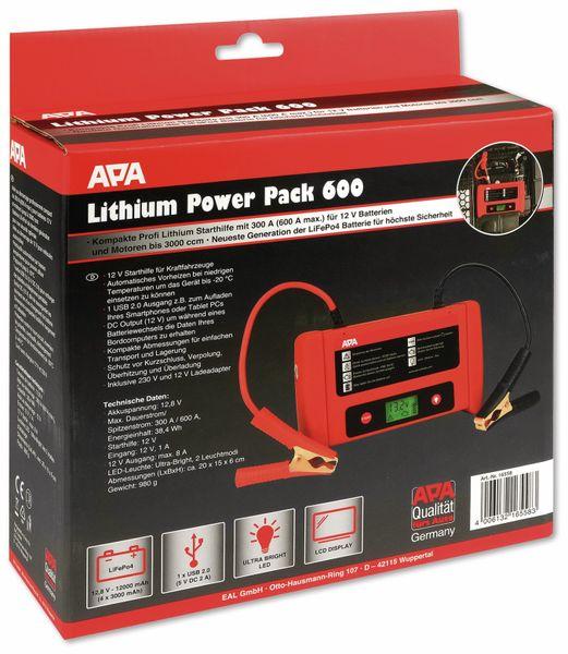 Starthilfegerät APA 16558, 12 V, 600 A, Lithium Powerpack - Produktbild 6