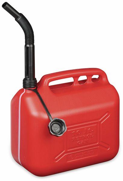 Benzinkanister IWH, 10 l, rot, mit Füllstandsanzeige - Produktbild 2