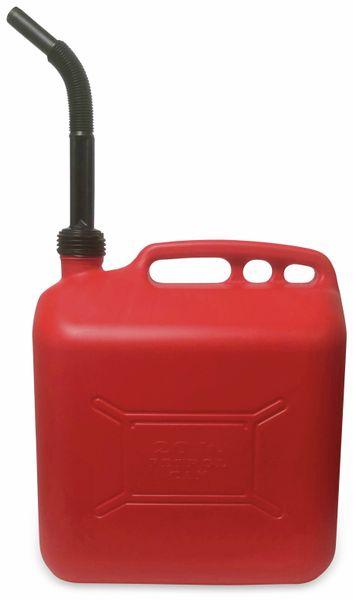 Benzinkanister IWH, 20 l, rot, mit Füllstandsanzeige - Produktbild 2