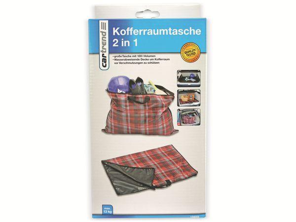 Kofferraummatte /-Tasche, Car Trend, 2 in 1 - Produktbild 3