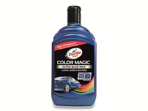 Autowachs TURTLE WAX Color Magic, 500 ml, blau