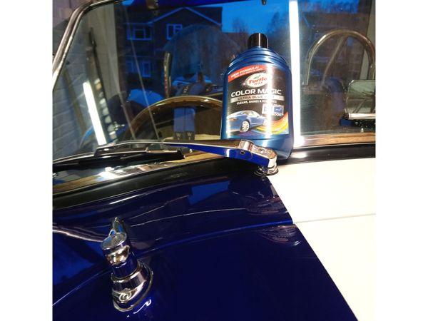 Autowachs TURTLE WAX Color Magic, 500 ml, blau - Produktbild 2