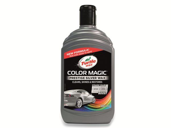 Autowachs TURTLE WAX Color Magic, 500 ml, silber