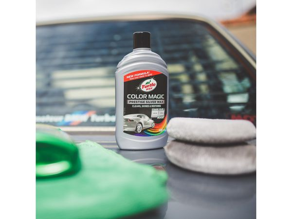 Autowachs TURTLE WAX Color Magic, 500 ml, silber - Produktbild 2